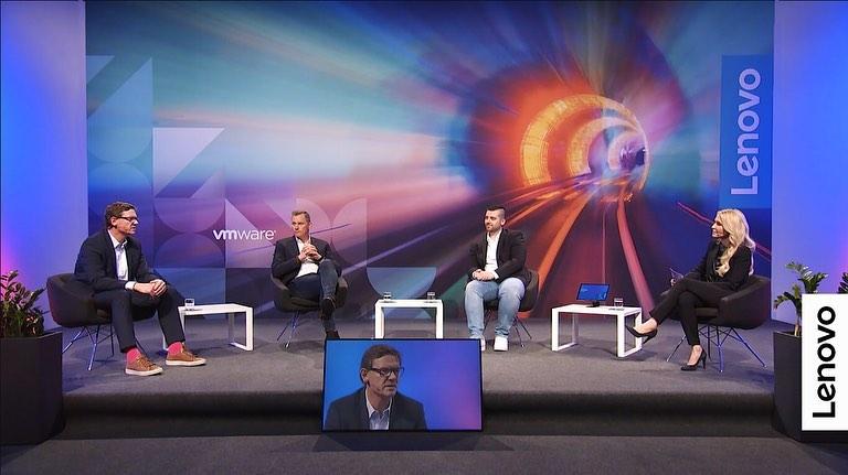 Talkrunde beim Lenovo xPert Talk